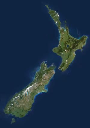 Google Earth New Zealand North Island