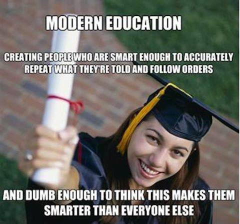 false-education