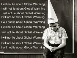 I will not lie - Global warming