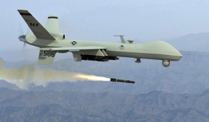 Drone launcking missile