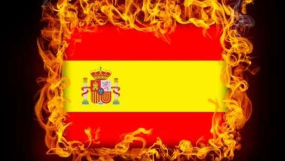 spain_flag_burning