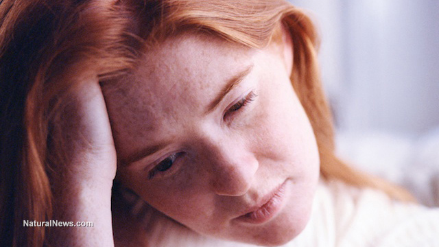Depressed-Redheaded-Woman
