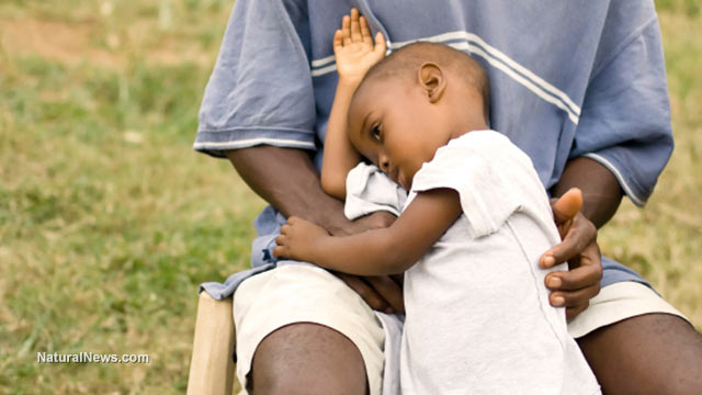 Africa-Father-Son-Sick-Vaccine-Ebola