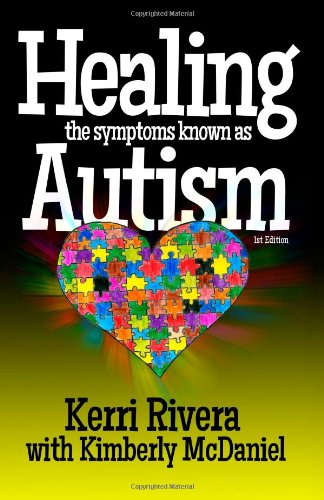 Healing the Symptoms Known as Autism - Cover
