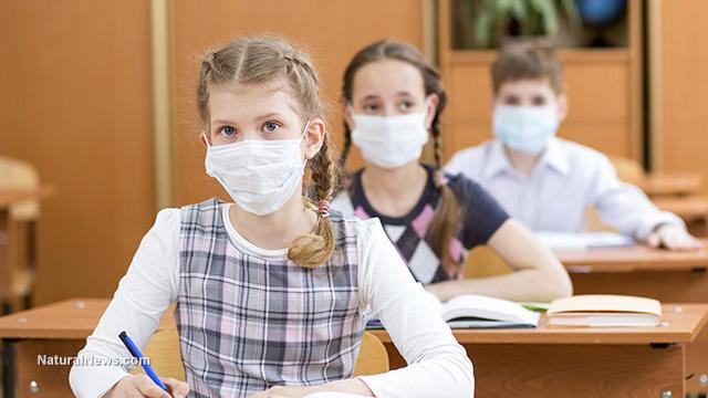 masked kids