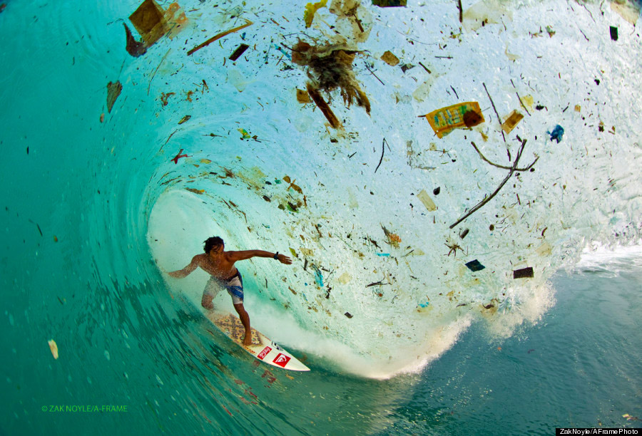 surfing-in-trash-filled-ocean