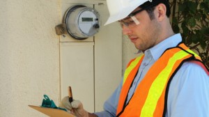 Hard-Hat-Worker-Smart-Meter-House