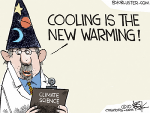 Cartoon  - Cooling and Warming