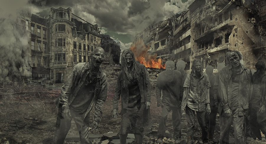 liberal-zombies-destroying-city