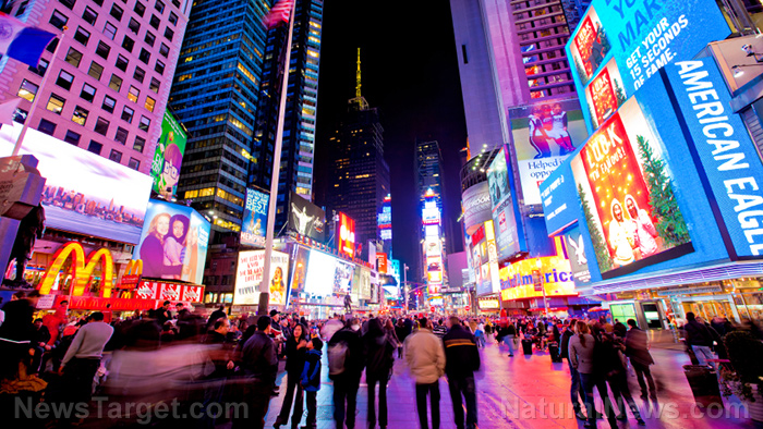 Times-Square-New-York-Manhattan-City-Lights-Advertisements