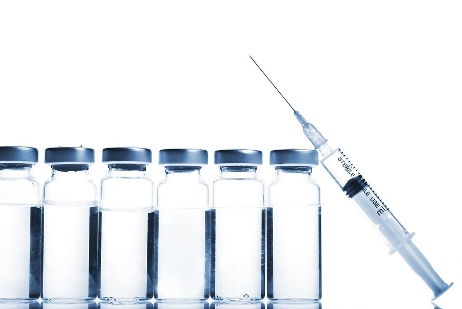 Vials-And-Syringe